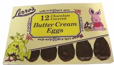 Lerro Easter Egg Trays 12ct - Butter Cream