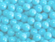 Light Blue Mini Chocolate Balls 2lb Sixlets