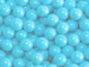 Light Blue Mini Chocolate Balls 2 1/2lb Sixlets