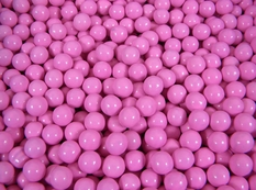 Pink Mini Chocolate Balls 2 lb Sixlets
