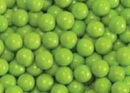 Lime Green Mini Chocolate Balls 2 1/2lb Sixlets