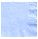 Lite Blue Beverage Napkins 3 Ply - 50 Count