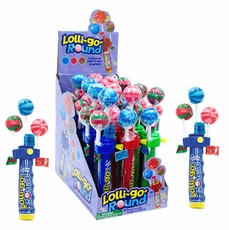 Lolli Go Round Novelty Lollipops 12 Count