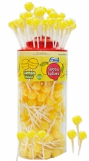 Lotta Lollies Lemon Yellow 150 Count