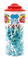 Lotta Lollies Tutti Frutti Lite Blue Lollipops 150 Count