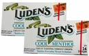 Ludens Cough Drops 20ct - Menthol