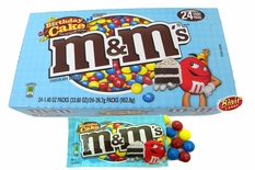 M&M'S Birthday Cake 24 Count