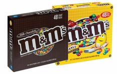 M&M's Candy 48ct (Pick Plain or Peanut)