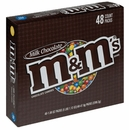 M&M's Candy 48ct - Plain