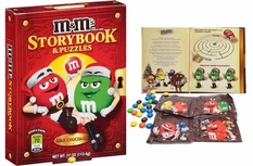 M&M's Candy Storybook & Puzzles