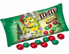 M&M'S Christmas Peanut 11.4oz Bag
