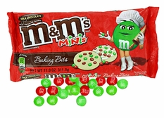 M&M'S Holiday Mini Baking Bits 11oz Bag