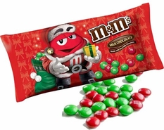 M&M's Milk Chocolate Christmas Candies 11.4oz Bag