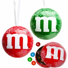 M&M'S Milk Chocolates In A Tin Ornament (One)