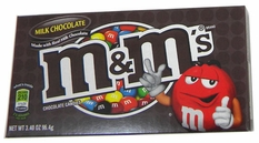 M&M's Plain 3.4oz Theater Size Box