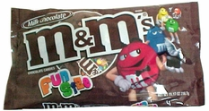 M&M'S Plain Snack Size Candy 9.45oz -21 Count Fun Size