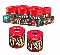 M&M's To Go Packs Plain 6 Count