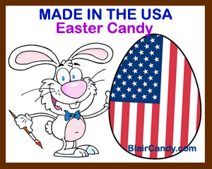Made In The USA Easter Candy Choices