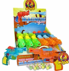 Magnum Squirt Gun With Candy 12 Count