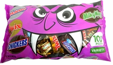 Mars Chocolate Variety Mix Bars 100 Count Vampire Bag
