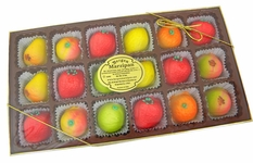 Marzipan Fruit Candy 18 Count Large Box 8oz