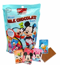 Mickey & Friends Mini Chocolate Bars 8oz
