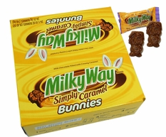 MilkyWay Simply Caramel Bunny 24 Count