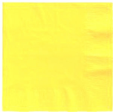 Mimosa Beverage Napkins 3 Ply - 50 Count