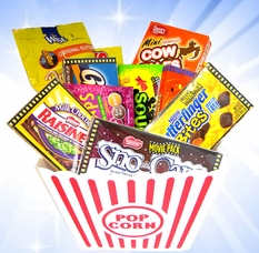 Movie Theater Candy Gift  Tub
