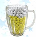 Mug Filled With Chocolate Sixlets - Beer Design