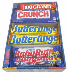 Nestle Candy Bars Variety Pack 30 Count