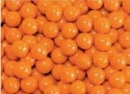 Orange Mini Chocolate Candy Balls 2 1/2lb Sixlets