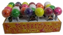 Paint Ball Giant Jaw Breaker Lollipops 24ct