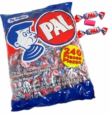 Pal Bubble Gum 240 Count Bag