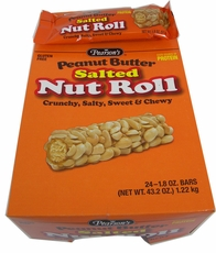 Pearson's Salted Nut Roll Peanut Butter 24 Count