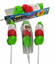 Peeps Rainbow  Christmas Lollipop
