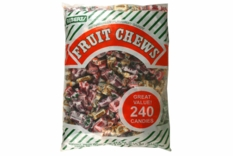 Penny Candy Pieces 240ct Wrapped - Assorted Fruit