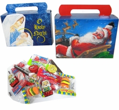 Personal Size Childrens Christmas Candy Treat