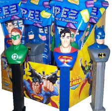 Pez DC Comic Justice League 12 Count