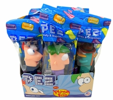Pez Phineas & Ferb 12 Count