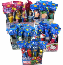 PEZ  With Dispenser 12 Count -Choose Your Favorite
