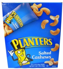 Planters Cashews 18ct