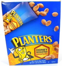 Planters Honey Roasted Peanuts 18 ct