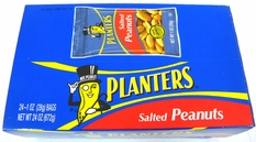 Planters Salted Peanuts 24ct