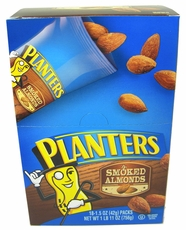 Planters Smoked Almonds 18 Count