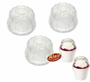 Plastic Dome Lids 50 Count