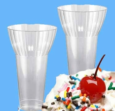 Plastic Parfait Cups  12oz 20 Count