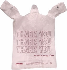 "Plastic ""Thank You"" Bags<br>T-Saks 1000ct"