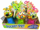 Pocket Pets Candy Dispenser 12 Count