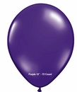 "Purple Latex Balloons 12"" 72 Count Bag"